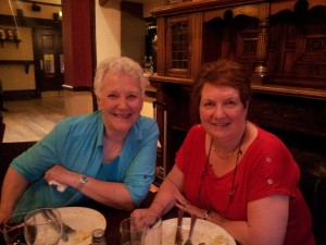 Volunteer Meal at the Watermillock, July 2014